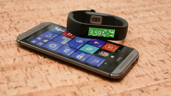 Ms Band Htc One