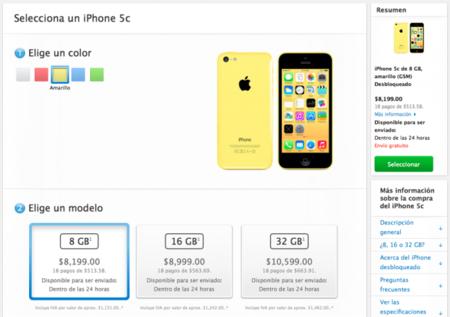 iPhone 5C México
