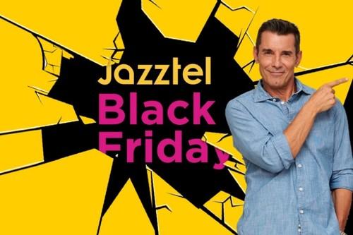 Black Friday de Jazztel: Fibra óptica 100Mb + línea móvil con llamadas ilimitadas y 10GB por 19,95 euros al mes