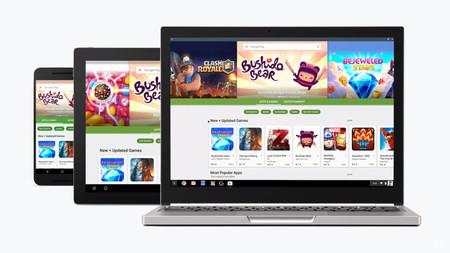 Chrome OS 64 Beta permite ejecutar aplicaciones de Android en segundo plano: se avecina un gran avance