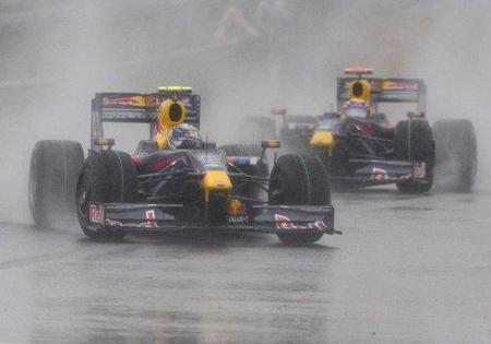 GP de China 2010: se espera lluvia para el fin de semana