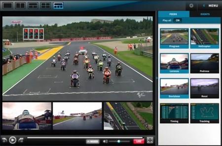 MultiScreen de MotoGP