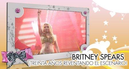 Britney Spears, ¡treinta años reventando el escenario!