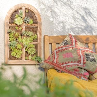 Hazlo tú mismo: Ponte a punto para la primavera fabricando tu propio jardín vertical