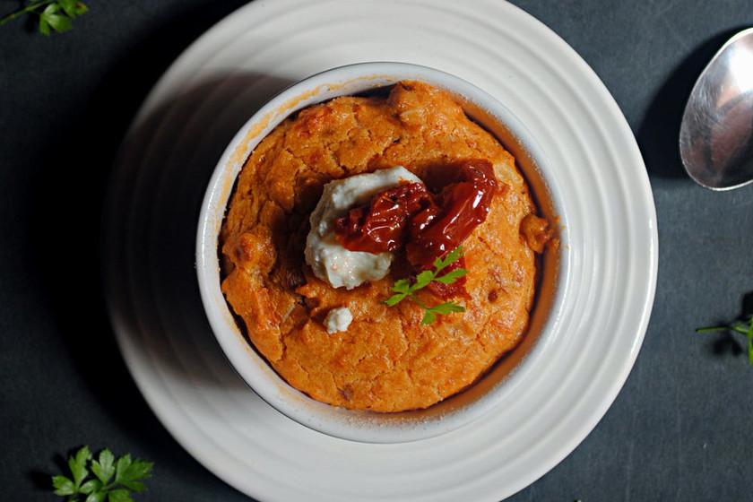 Flanes de tomates secos y queso Parmesano: receta sin gluten para el #DíadelCelíaco