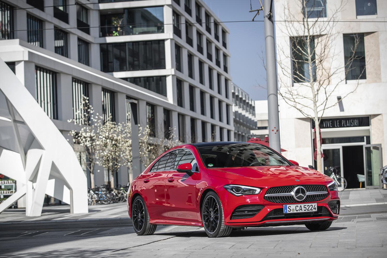 Foto de Mercedes-Benz CLA Coupé 2019, toma de contacto (233/248)
