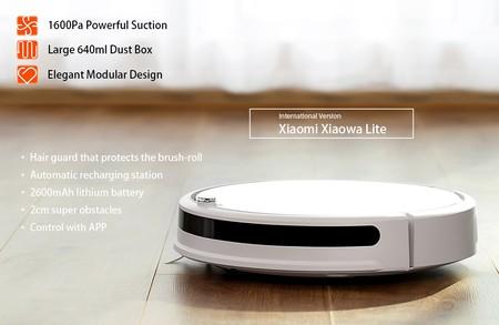 Robot aspirador Xiaomi Roborock Xiowa Lite por sólo 145 euros con este cupón