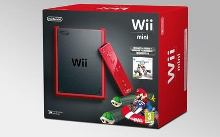 Wii mini con 'Mario Kart Wii' disponible el 25 de octubre