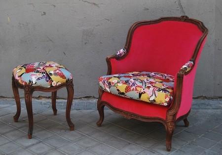 Una buena idea dale vida a tus muebles antiguos con la for Sofas tapizados clasicos