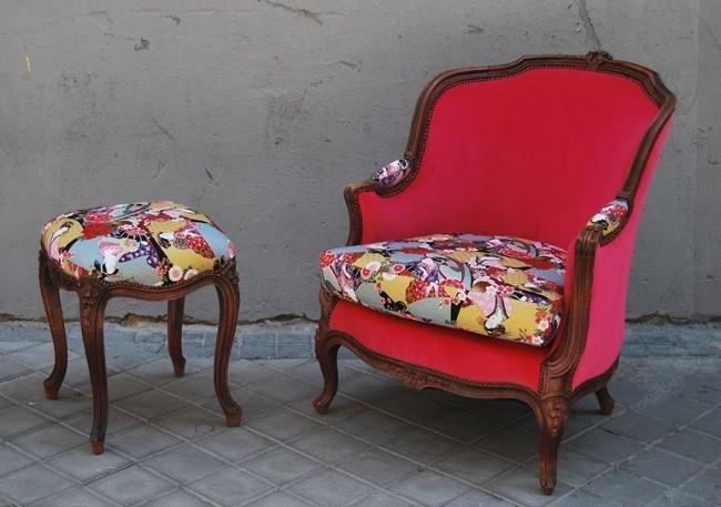 Una buena idea dale vida a tus muebles antiguos con la for Tipos de tresillos