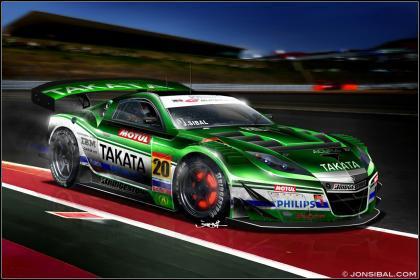 Honda NSX Super GT 2010
