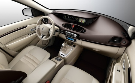 Renault Scénic y Grand Scénic 2012 interior beige