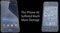 Prueba de resistencia a caídas Samsung Galaxy S II vs Apple iPhone 4S