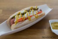 Cómo hacer un hot dog al estilo de Chicago