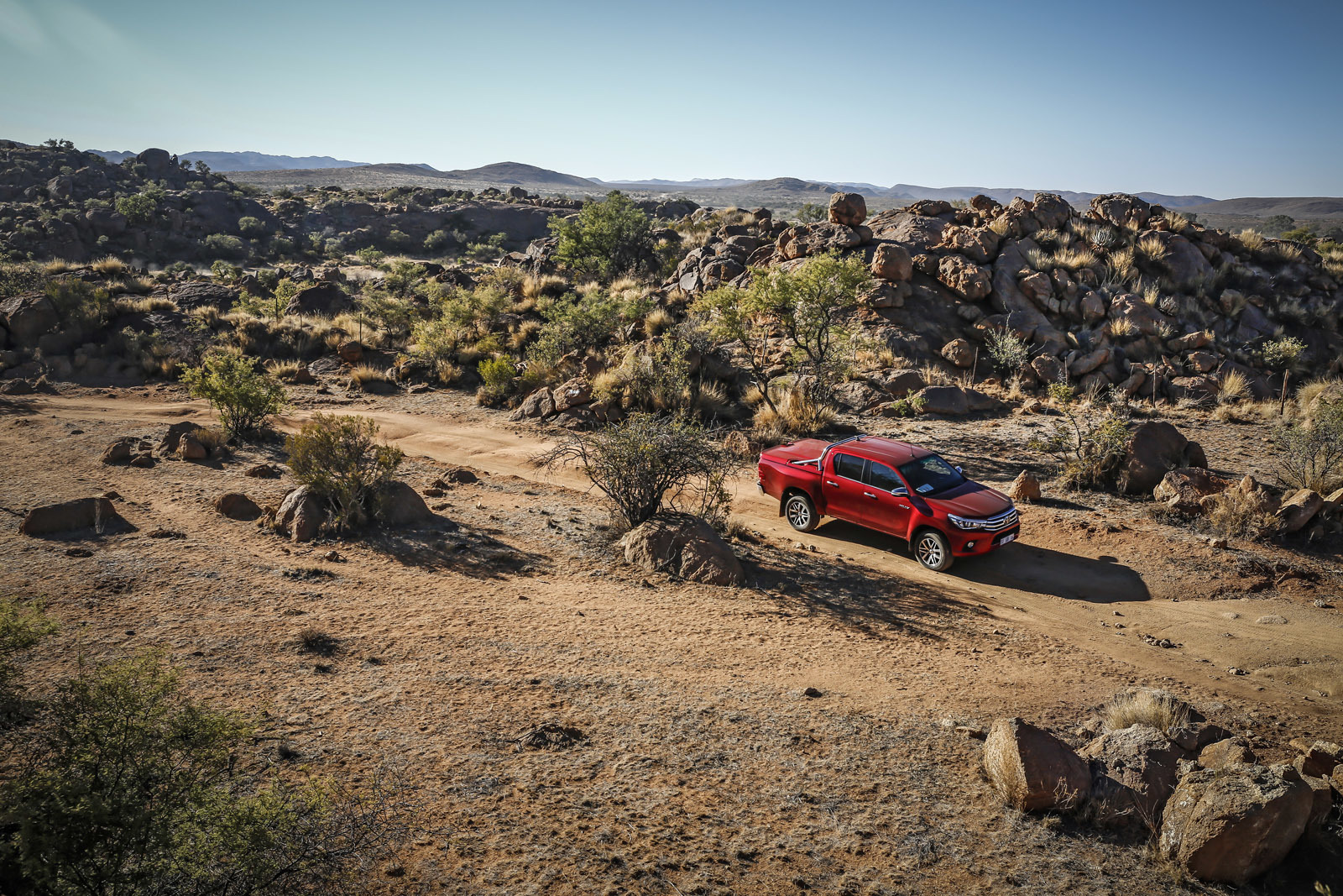 Foto de Toyota Hilux 2016 Namibia (52/74)