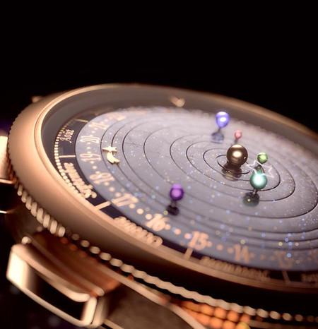 El reloj Midnight Planetarium de Van Cleef & Arpels
