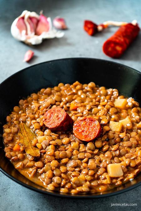 Lentejas Con Chorizo 600x900