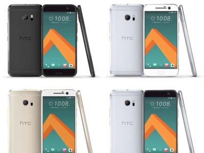 Los cuatro colores del HTC 10, al descubierto