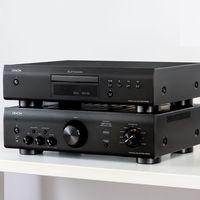 Denon apuesta por el HiFi clásico con su nuevo amplificador integrado y reproductor de discos compactos