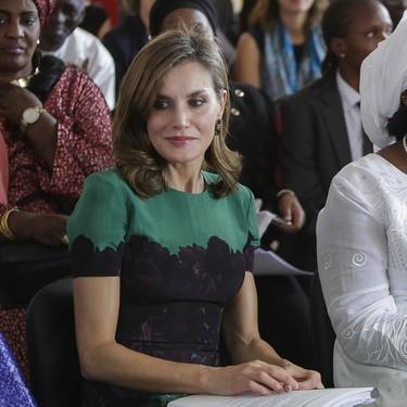 A la Reina Letizia le va el reciclaje: este vestido verde ya lo hemos visto antes