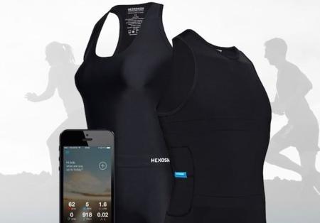 Hexoskin, la camiseta que promete monitorizar hasta el sueño