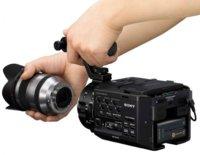 La NEX-FS100 se apunta a las videocámaras de ópticas intercambiables
