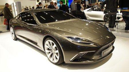Lotus Eterne, el coupé de cuatro puertas de Lotus