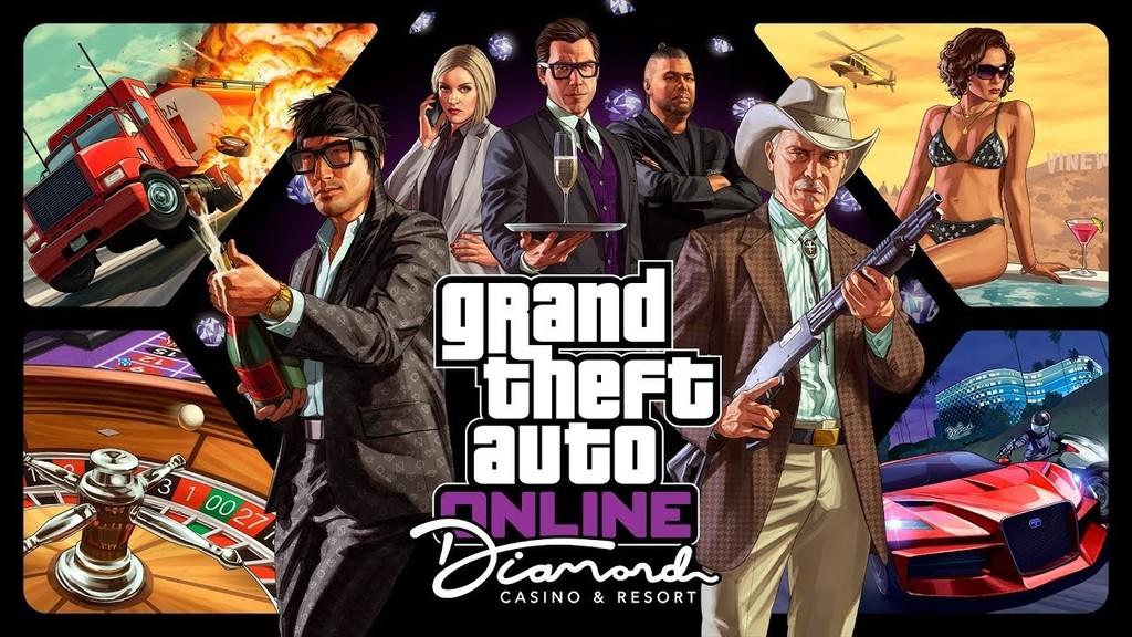 El lanzamiento de The Diamond Casino & Resort es un exitazo: nunca antes había habido tantos jugadores en GTA Online
