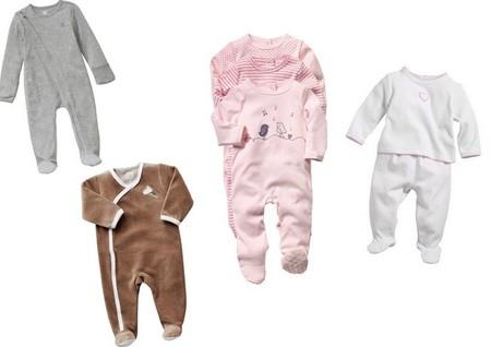 bebés pijamas