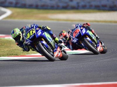 """Valentino Rossi: """"Quería subir al podio, pero no tenía fuerzas para atacar a Petrucci"""""""