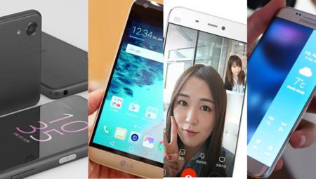 Xiaomi, Samsung, Sony y LG, comparativa: cuatro formas de entender la gama alta