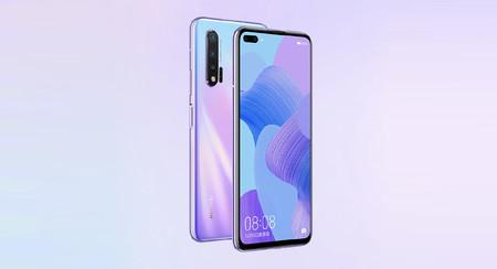 Huawei Nova 6 5G: cámara frontal dual perforada en la pantalla y conectividad 5G con Kirin 990