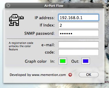 Configuración de Airport Flow