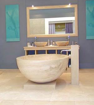 Bañeras en piedra de Limestone