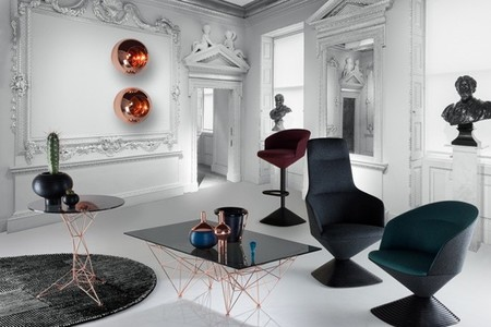 Club, original puesta en escena de mobiliario que presentará Tom Dixo en la Milán Design Week