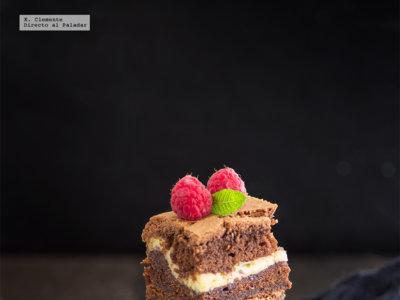 Brownie-cheese cake. Receta para los más golosos
