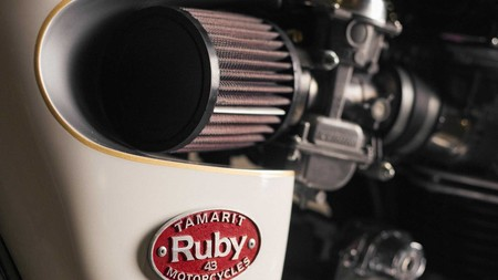 Custom Triumph Bonneville Air Filter