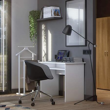 Mesa de escritorio blanco