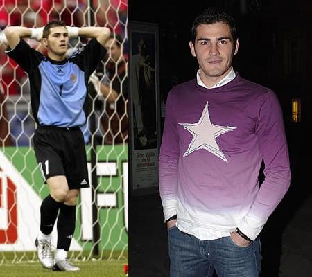 El estilo de Iker Casillas