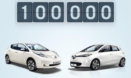 Alianza Renault-Nissan 100.000 vehículos eléctricos vendidos a nivel global
