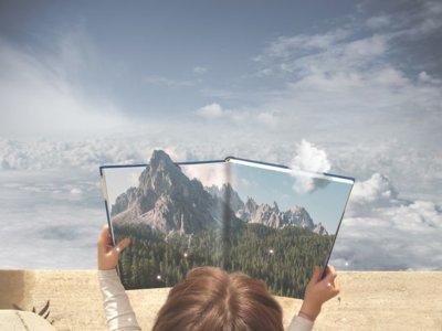 Este artista sólo necesita su móvil para crear fantásticos escenarios surrealistas