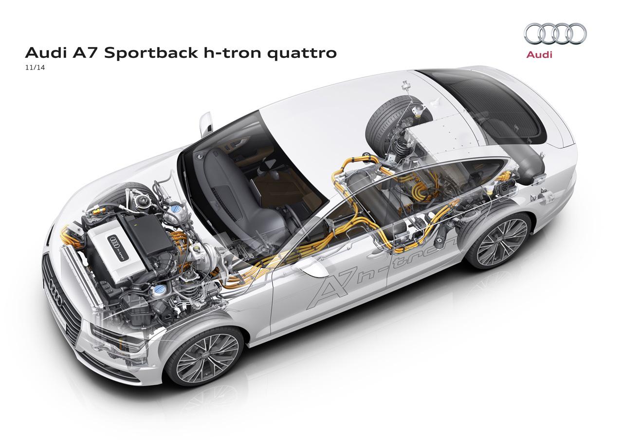 Foto de Audi A7 Sportback h-tron quattro (10/49)