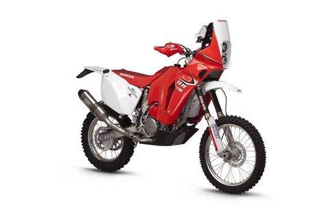 Jordi Arcarons y HM presenta su moto para los raids: la HM Honda CRE F450X AR12