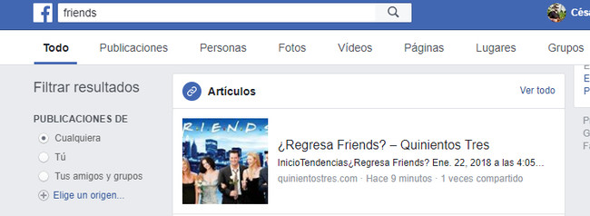 Friends Buscar Facebook