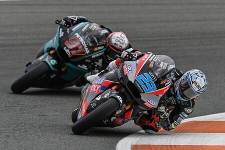 Schrotter Valencia Moto2 2020