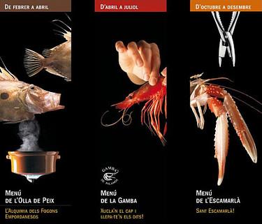 Turismo gastronómico: el menú de l'Escamarlà de Palamós y Calonge