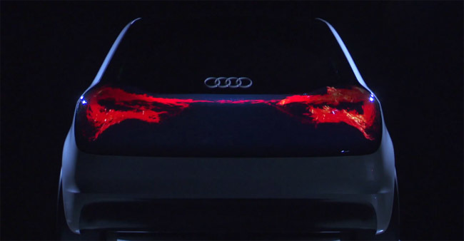 Audi Swarm OLED