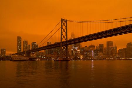 Incendios forestales, niebla y partículas: la fórmula tras los cielos naranjas de San Francisco