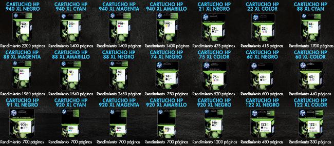 Los cartuchos XL para impresoras de inyección son una opción muy rentable