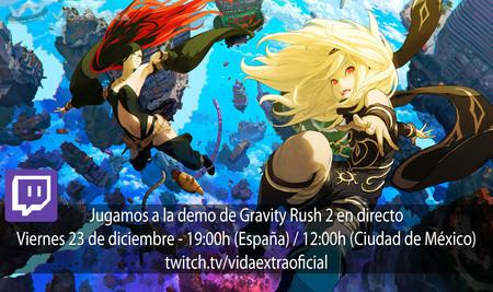 Streaming de Gravity Rush 2 hoy a las 19:00h (las 12:00h en Ciudad de México) [finalizado]